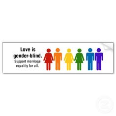 marriage equality symbol | marriage equality bumper sticker