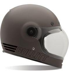 Bell Bullitt Retro Metallic Titanium Bubble Helmet