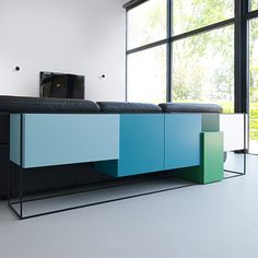 Cubic Furniture With Minimal Lines