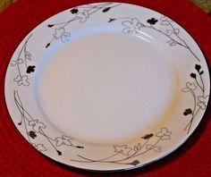 Charter Club Grand Buffet Silhouette Platinum Dinner Plate #CharterClub