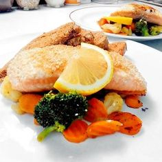 Fitness recepty z ryb Food And Drink, Fitness, Chicken, Meat, Ethnic Recipes, Cubs