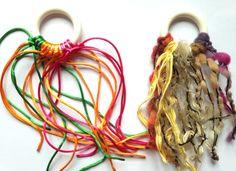 Sonall de teles i colors per la panera dels tresors