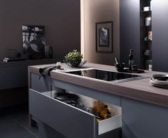 induktionskochfelder mit dunstabzug nach unten neu im k chenstudio kern der kochfeldabzug nach. Black Bedroom Furniture Sets. Home Design Ideas