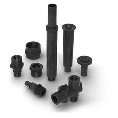 Algreen 0.75 in. & 0.5 in.Fountain Nozzle Component Kit for 200/320/500/850 GPH Fountain and Pond Pumps - 92300