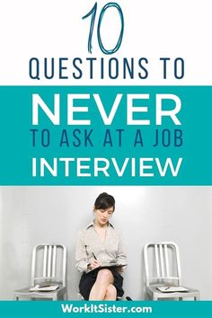 10 Questions to NEVER ask at a job interview. When employers ask if you have any questions. These 10 questions are things you should never mention at an interview. Common Job Interview Questions, Job Interview Preparation, Job Interview Tips, Job Interviews, Interview Nerves, Job Search Apps, Job Search Websites, Finding The Right Job, Job Hunting Tips