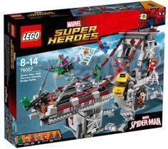 LEGO Super Heroes  76057 Spiderman: Úžasný súboj pavúčich bojovníkov na moste