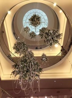 "Fortnum and Mason,London UK, interior, ""Christmas Cristalier "", pinned by Ton van der Veer"