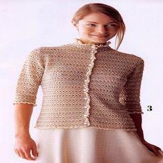 Belle gilet basique - Ici, à Crochet Beautiful