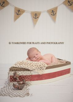 Boat Prop Newborn Photography Prop Boat Photo by MrAndMrsAndCo