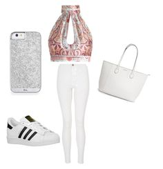 """"" by noragd001 on Polyvore featuring Zimmermann, Quiz and adidas Originals"
