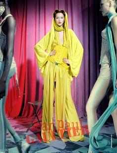 Ad Campaign: Jean Paul Gaultier S/S 2012 : Alana Zimmer & Constance Jablonski by Miles Aldridge