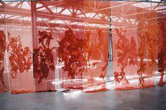 Installatie Claudy Jongstra - #DutchVeltArtist