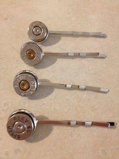 Bullet Hair Pin (.45 Winchester Speer Double Tap bullet brass ammo) on Etsy, $4.99