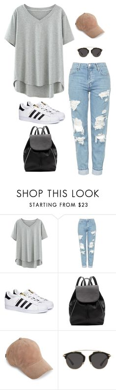 """"" by alishabbarton on Polyvore featuring Topshop, adidas, Witchery, rag & bone and Christian Dior"