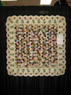Lovely, soft hexagons by ZipZapKap, via Flickr