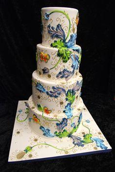 Miami Modern wedding cakes DSC_7668