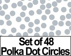 "Set of 48 - 2"" Metallic Silver Circles Polka Dots Vinyl Wall Graphic Decals Stickers DECALROCKET,http://www.amazon.com/dp/B001H5BPBK/ref=cm_sw_r_pi_dp_caDYsb0NQKS0JEDS"