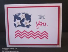 Work of Art Chevron Flag - Jean Fitch - Celebrating Independence Day.   CASE'ing Pinterest - Details in the blog post.