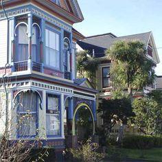 neighborhoods of Eureka, California