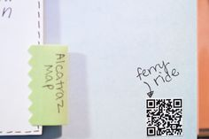 Smash Book page idea....adding QR codes to be able to watch video relating to page content