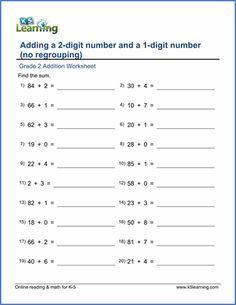 grade 1 math worksheet place value 2 digit numbers in expanded form k5 learning kids math k 3. Black Bedroom Furniture Sets. Home Design Ideas