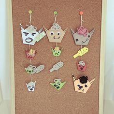 金棒/鬼/折り紙/節分のインテリア実例 - 2017-02-06 09:06:04 | RoomClip (ルームクリップ) Advent Calendar, Origami, Holiday Decor, Handmade, Home Decor, Hand Made, Decoration Home, Room Decor, Advent Calenders