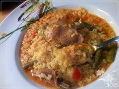 La Nueva Cocina de Leila: Arroz caldoso con costilla de cordero