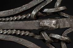 Ceremonial Axe Kilonda, Songye, D.R. Congo :: ERTribal Tribal Art, Congo, Blacksmithing, Axe, Diamond, Silver, Blacksmith Shop, Diamonds, Blacksmith Forge