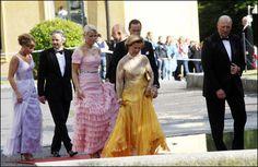 Det norske Kongehuset var deltagere under regjeringsmiddagen dagen før dagen. 2010. Foto: Scanpix