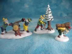 Dept 56 - Woodsmen Elves