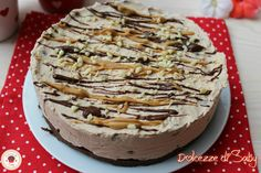 cheesecake arachidi e cioccolato