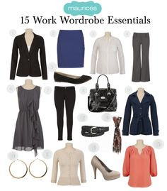 15 Work Wardrobe Essentials