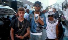 Justin Bieber Backstage at the Billboard Music Awards