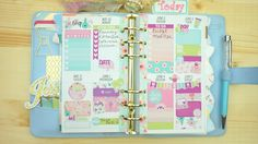 Plan With Me//( Personal) Sew Much Crafting Inserts// Kikki K Planner