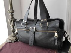 Mulberry Large Mabel in Black Goatskin Leather aabf66e77f060
