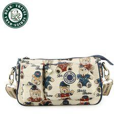 DAKA BEAR Fashion Women's Faux leather Clutch Handbag Shoulder Tote Bag Girl Satchel Purse