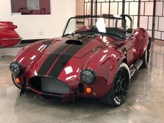 Shelby Cobra Gt500, Ac Cobra 427, Ford Mustang Gt500, 1965 Shelby Cobra, Mustang Cars, Shelby Cobra Replica, Ford Trucks For Sale, Factory Five, Ruby Red