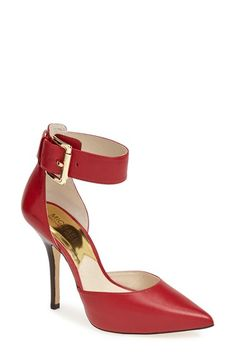 ankle strap d'Orsay pumps