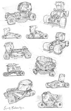 vehicle sketches CT: