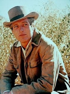 """""""Butch Cassidy and The Sundance Kid,"""" Paul Newman. Paul Newman Joanne Woodward, Sundance Kid, Western Tops, Thing 1, Robert Redford, Butches, Most Beautiful Man, Picture Photo, Movie Stars"""