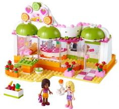 Heartlake juicebar - Lego 41035 Friends Shop - Eurotoys - Legetøj online