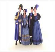 Victorian costume. Dickensian / Victorian themed carol singers for hire in the UK and across London