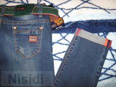 Молодежные джинсы New Sky с царапками и зеленцой Днепр - Изображение 3