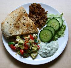 Slowfood: selbstgemachter Vönerteller