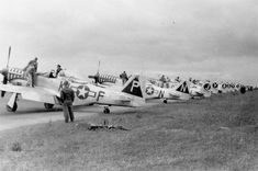 20th Fighter Group P-51D Mustangs