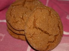 Pumpkin Molasses Cookies. Made these tonight. Pretty good