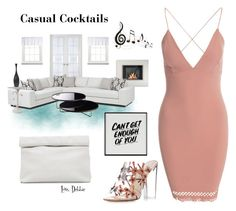 """""""Casual Cocktails"""" by debbie-michailides ❤ liked on Polyvore featuring Liz Claiborne, Paul Andrew, Marie Turnor, Modloft, Baron Von Fancy and Benzara"""