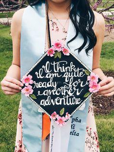 Lord of the Rings graduation cap #diy #gradcap #graduationcap #lordoftherings