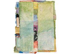 Untitled 11P-5 Sigrid Burton Mixed Media Works on Paper