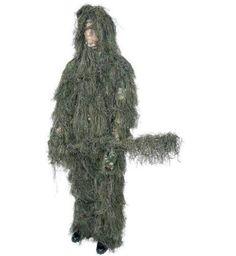 B&F System SPGHILML Classic Safari 4pc Woodland Ghillie Suit
